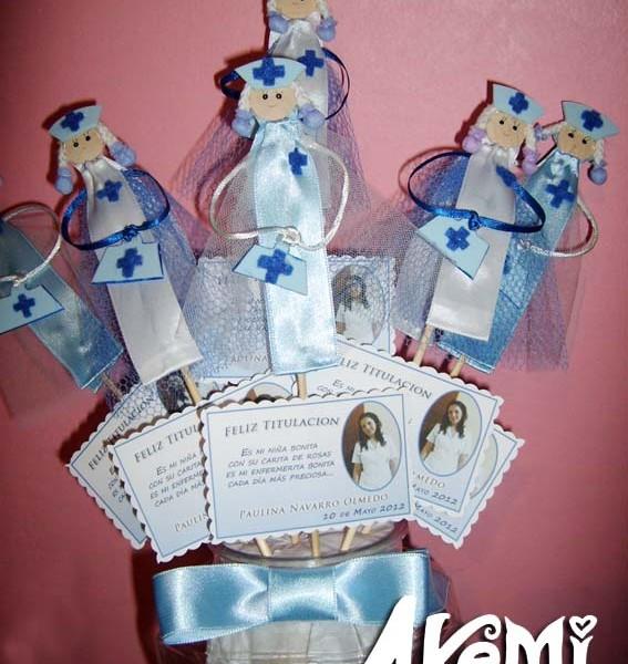 Recuerdos de enfermeras akemi creaciones - Regalos para enfermeras ...
